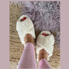 Copenhagen Shoes - Isabel Slippers Off White