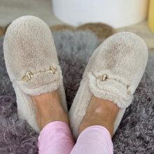 Copenhagen Shoes - Melania Slippers Ivory