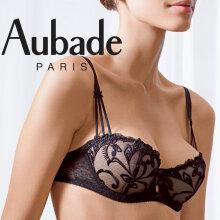 Aubade - Au Bal De Flore Balconette Noir