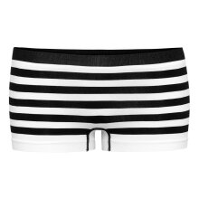 Balzaa - Milano Shorts Pants Black/White