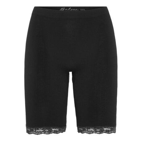 Balzaa - Bali Bambus Long Shorts Sort