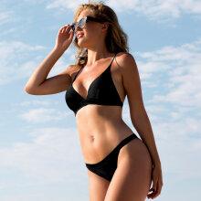 Wiki - Triangle Bikini Sæt Sort