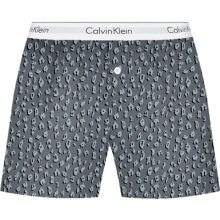 Calvin Klein - Woven's Cotton Sleep Shorts Cheetah
