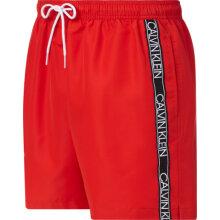 Calvin Klein Herre - Core Logo Badebukser Fierce Red