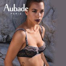 Aubade - Soleil Nocturne Balconette Rose Lunaire