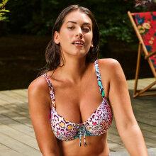 Primadonna - Managua Balconette Bikini Top Tropical Leo