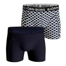 Bjørn Borg Herrer - Core 2-pak Boxershorts Blå/Print