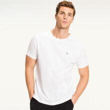 Tommy Hilfiger Herre - Cotton T-shirt Hvid
