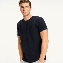 Tommy Hilfiger Herre - Cotton T-shirt Navy Blazer