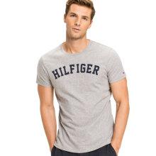 Tommy Hilfiger Herre - Organic Cotton T-shirt Grey Heather