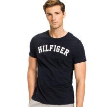 Tommy Hilfiger Herre - Organic Cotton T-shirt Navy Blue