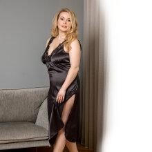 Plaisir - Boudoir Nightdress Black