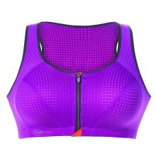 Anita - Sports Top Front Open Lilla