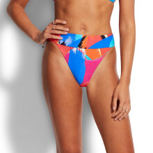Seafolly - Banded High Rise Trusse Chilli
