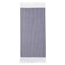 Seafolly - Marina Stripe Håndklæde True Navy