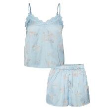 Vero Moda - Sille Cami Nattøj Sæt Cashmere Blue