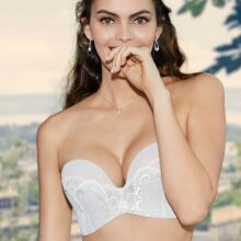 Wonderbra - Glamour Perfect Strapless BH Ivory