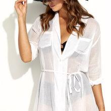 Panos Emporio - Ismene Dress White