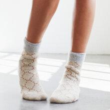 Hype The Detail - Cosy Logo Socks Golden