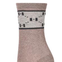 Hype The Detail - Fashion Socks Mørk Caramel