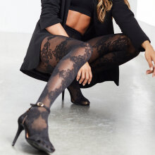 Hype The Detail - Lace Tights Sort