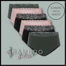 Balzaa - Bali Bambus Maxi Giftbox Army/Rose/Sort
