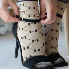 Hype The Detail - Fashion Socks Golden