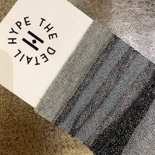 Hype The Detail - Transparent Socks Grå