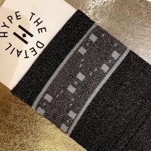 Hype The Detail - Fashion Socks Mørk Grå Melange