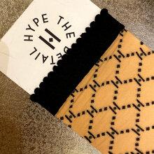 Hype The Detail - Logo Socks Golden