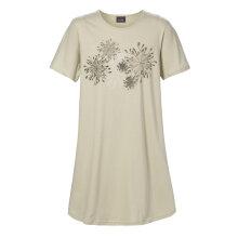 Trofé - Bigshirt Blomster Grøn