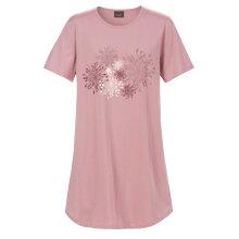 Trofé - Bigshirt Blomster Rosa