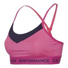 Calvin Klein - Work Out Adjustable Sports BH Pink Yarrow