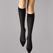 Wolford - Velvet de Luxe 50 Knee-High Sort