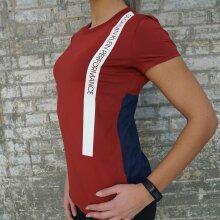 Calvin Klein - Bold Stripe T-shirt Merlot