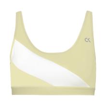 Calvin Klein - Re-Merge Sports BH Wax Yellow