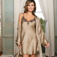 Lady avenue - Silke Chemise Antigue Gold