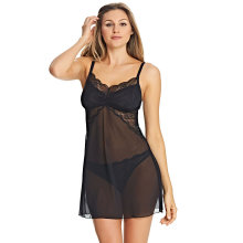 Freya - Fancies Chemise Sort