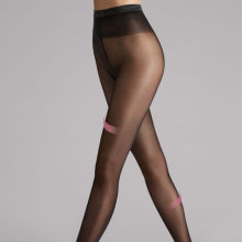 Wolford - Synergy 40 leg sup. Tights Sort