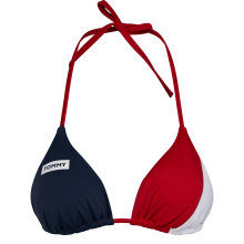 Tommy Hilfiger - Tommy Bold Triangle Bikini Top Tango Red