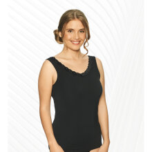 Lady avenue - Bambus Tank Top m blonde Sort