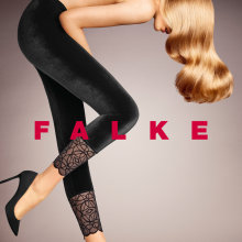 Falke - Dark Romance Leggings Sort