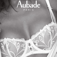 Aubade - Au Bal de Flore Balconette Hvid