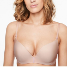 Chantelle - Absolute Invisible Push-Up BH Golden Beige