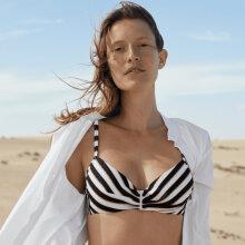 Femilet - Belize Fullcup Bikini Top Black/White