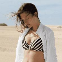 Femilet - Belize Formstøbt Bikini Black/White
