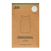 JBS Herre - 2-pak Organic Undertrøje Hvid