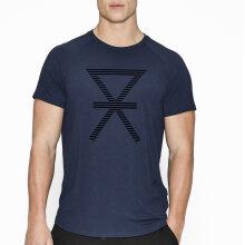 JBS of Denmark Herre - T-shirt med Print Navy
