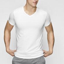 JBS of Denmark Herre - Bambus T-Shirt V-Neck Hvid