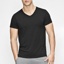 JBS of Denmark Herre - Bambus T-Shirt V-Neck Sort